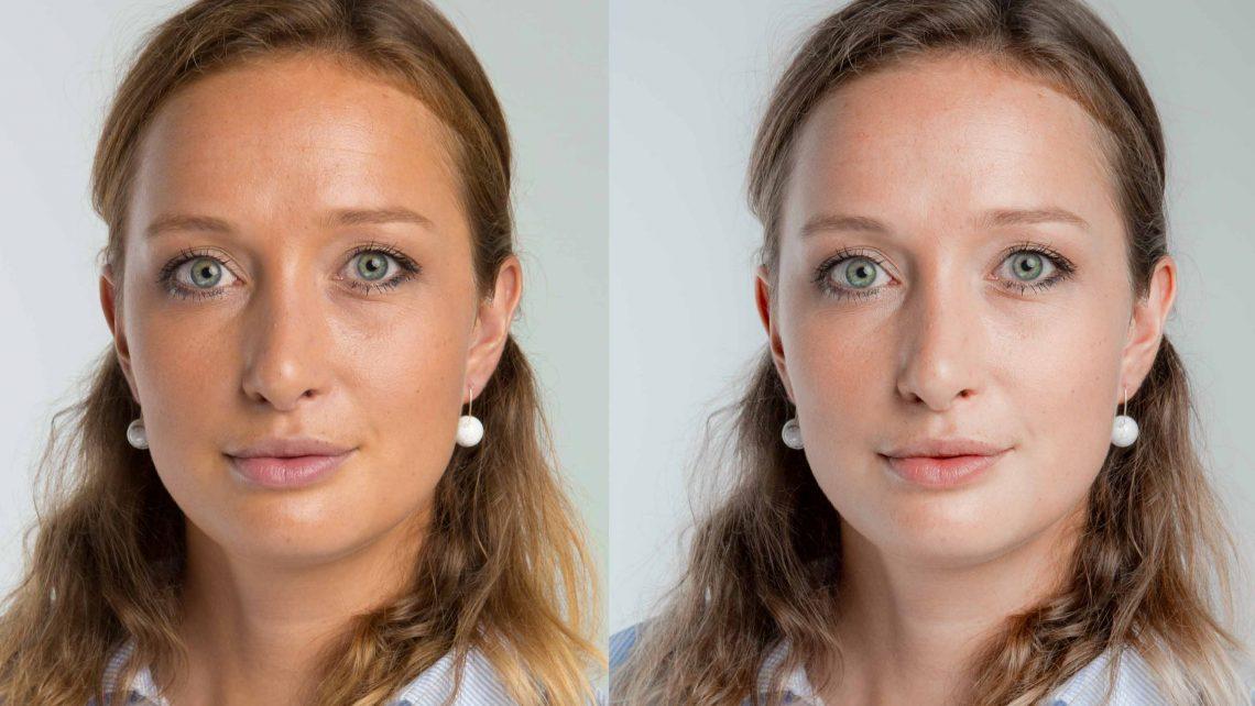 Gesichtsfarbe